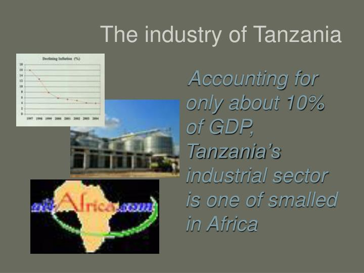 The industry of Tanzania