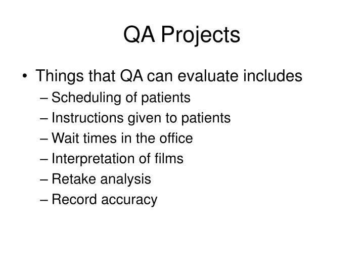QA Projects