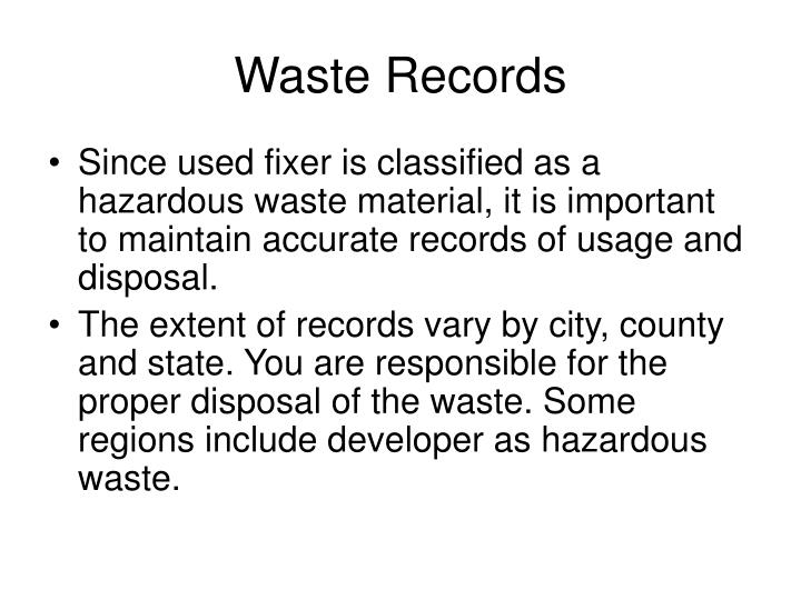Waste Records