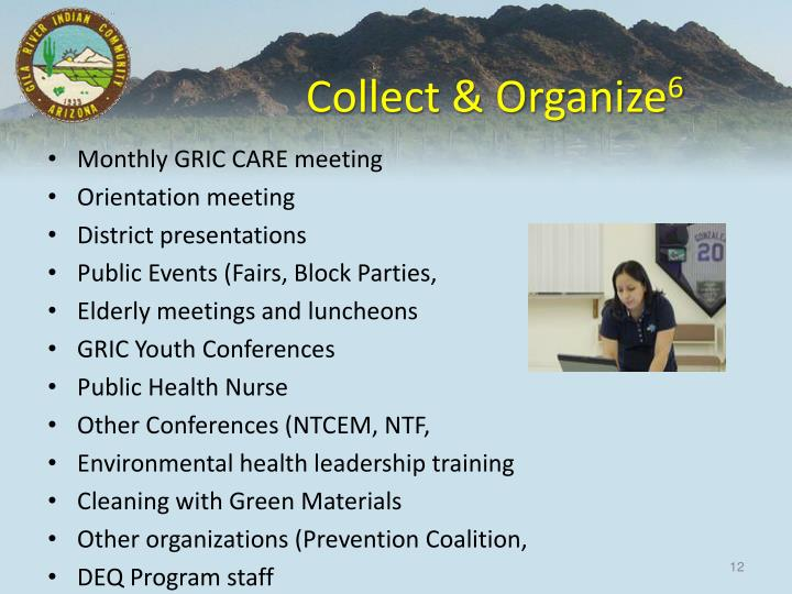 Collect & Organize