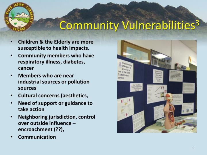 Community Vulnerabilities