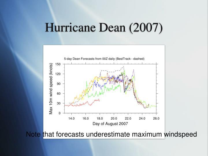 Hurricane Dean (2007)