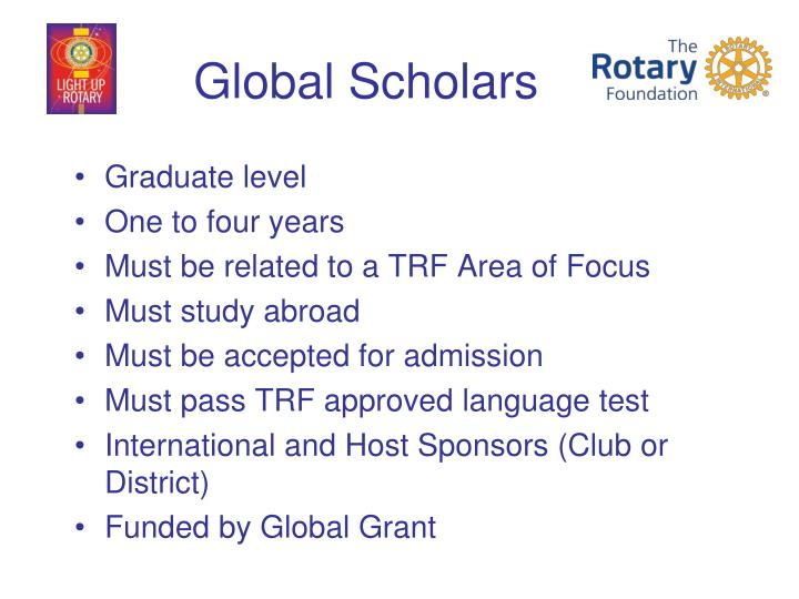 Global Scholars