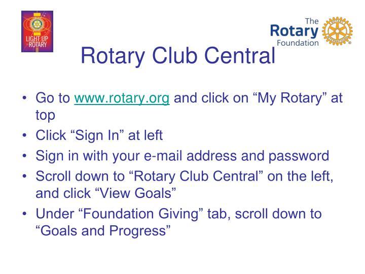 Rotary Club Central