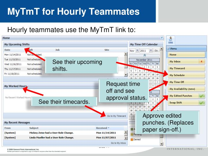 MyTmT for Hourly Teammates