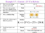 example 3 7 convert 25 c to kelvins