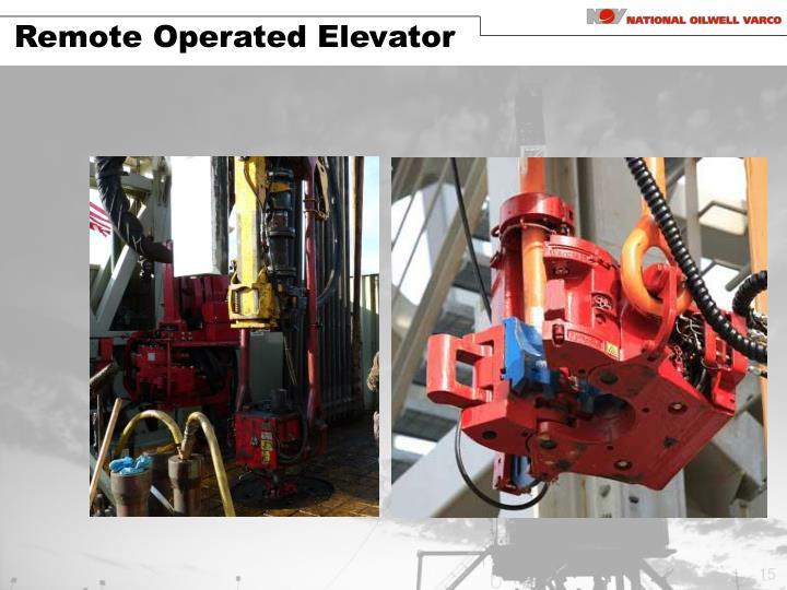 Remote Operated Elevator