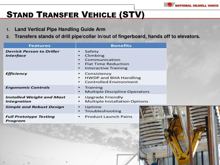 Stand Transfer Vehicle (STV)