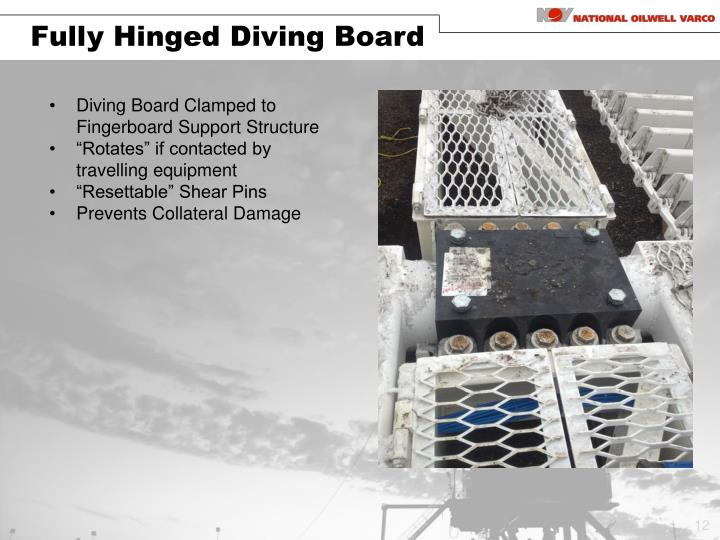 Fully Hinged Diving Board