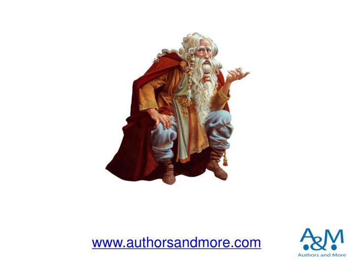 www.authorsandmore.com