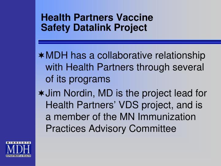 Health Partners Vaccine