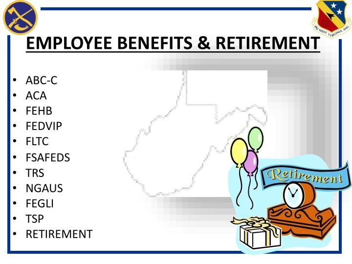 Employee benefits retirement