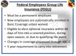 federal employees group life insurance fegli