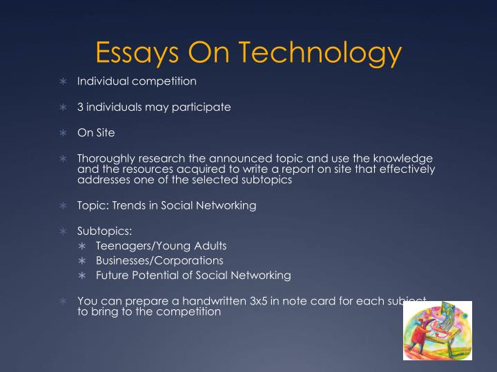 Essays On Technology