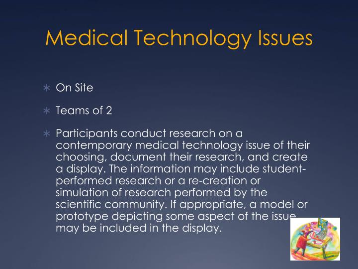 Medical Technology Issues