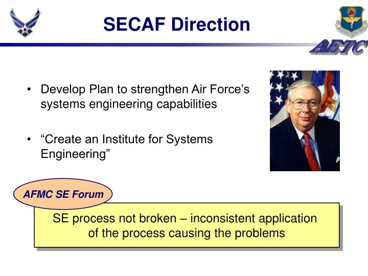 SECAF Direction
