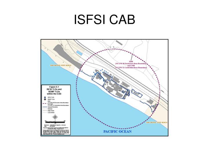 ISFSI CAB