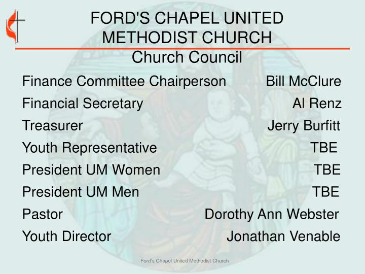 FORD'S CHAPEL UNITED