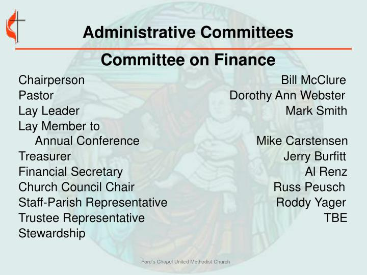 Administrative Committees