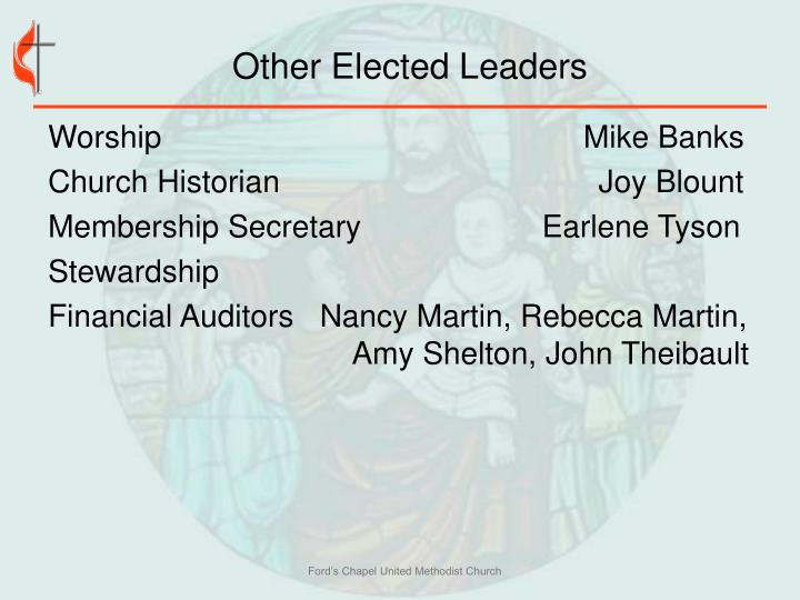 Other Elected Leaders