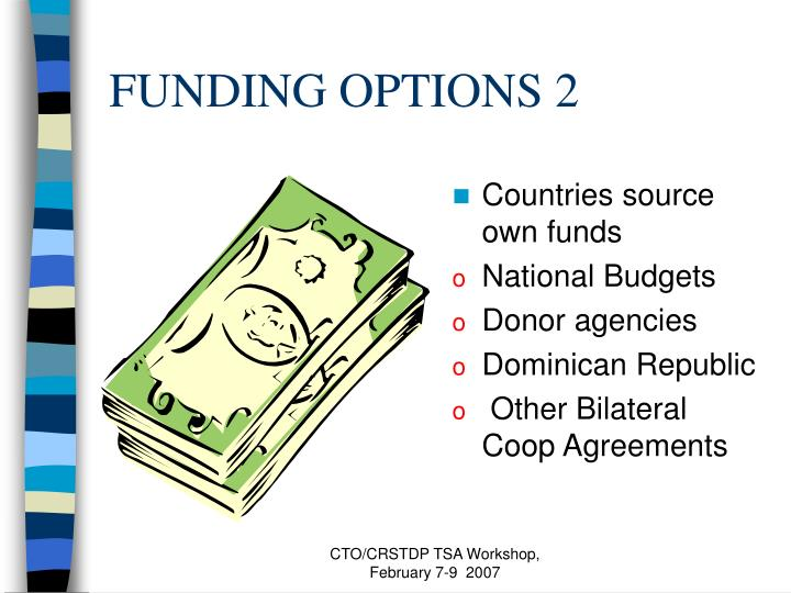 FUNDING OPTIONS 2
