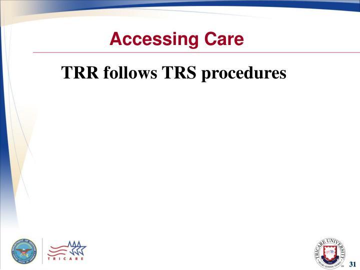 Accessing Care