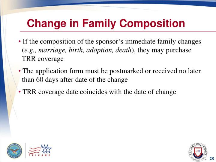 Change in Family Composition