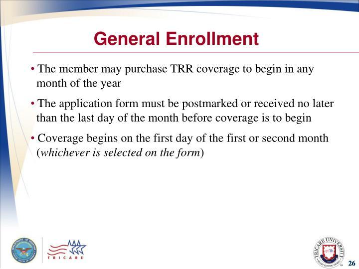 General Enrollment