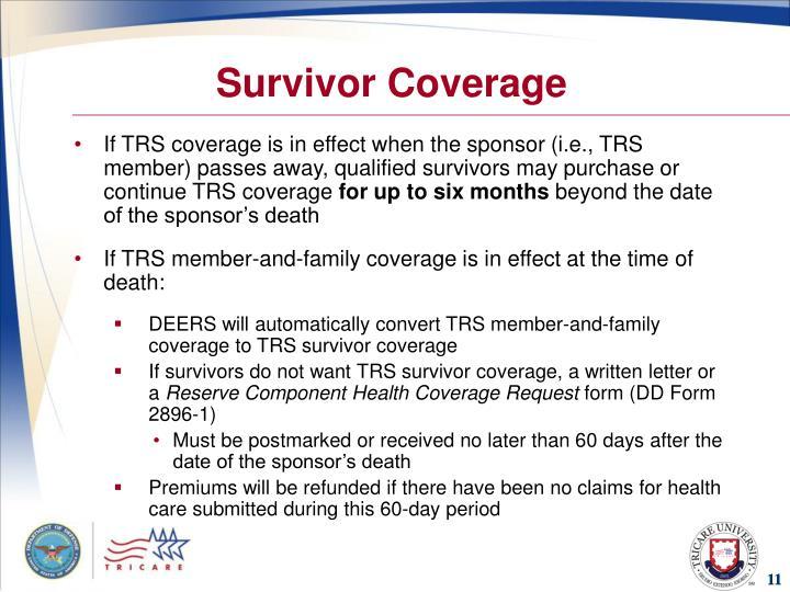 Survivor Coverage