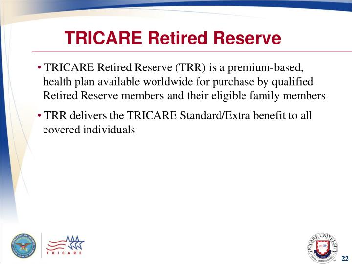 TRICARE Retired Reserve