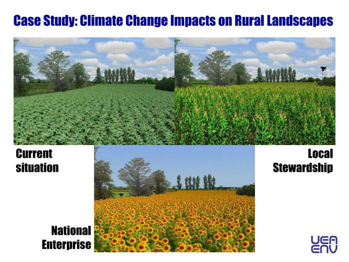 Case Study: Climate Change Impacts on Rural Landscapes