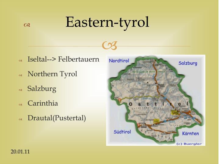 Eastern-tyrol