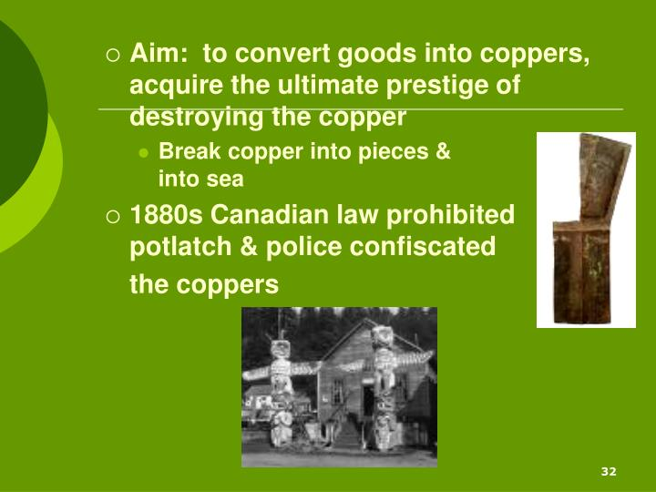 Aim:  to convert goods into coppers, acquire the ultimate prestige of destroying the copper