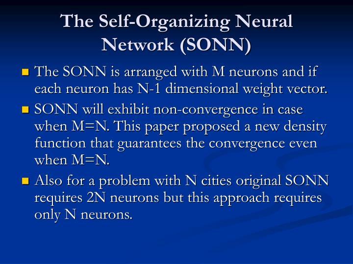 The Self-Organizing Neural Network (SONN)