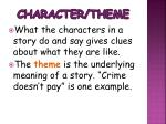 character theme