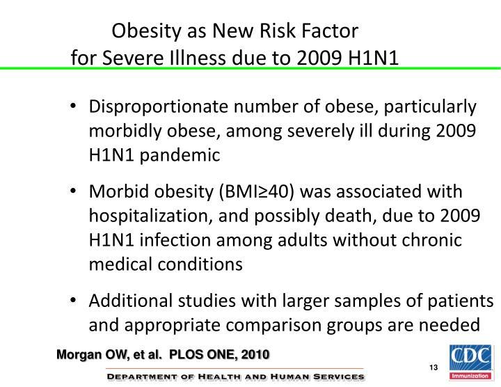 Obesity as New Risk Factor