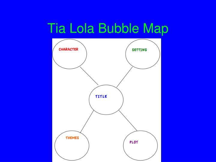 Tia Lola Bubble Map