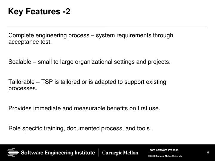 Key Features -2