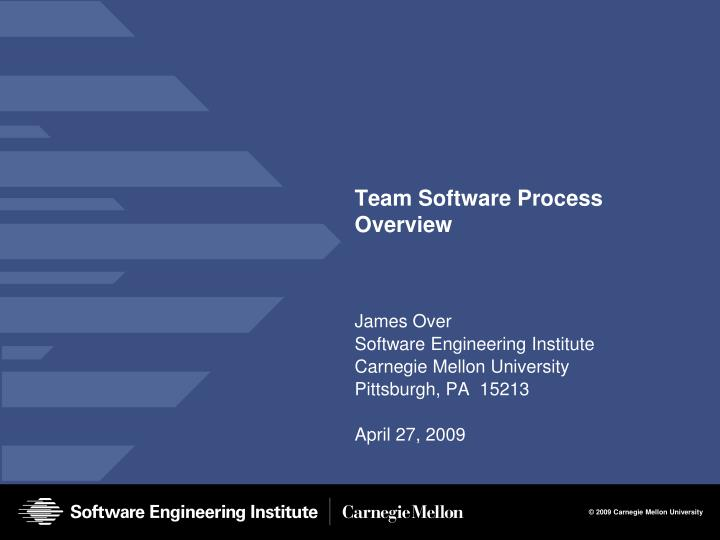 team software process overview