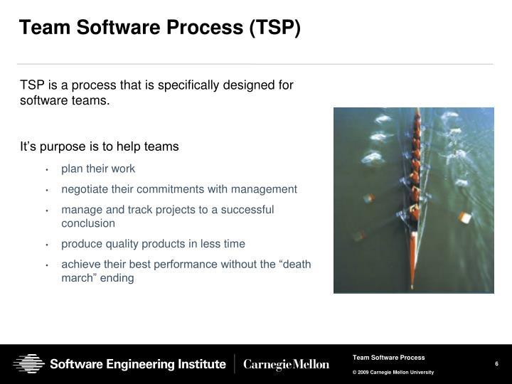 Team Software Process (TSP)