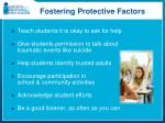 fostering protective factors