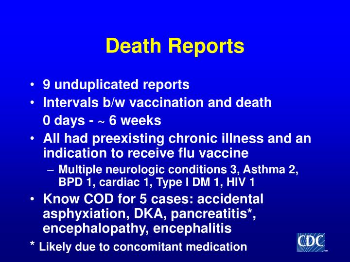 Death Reports
