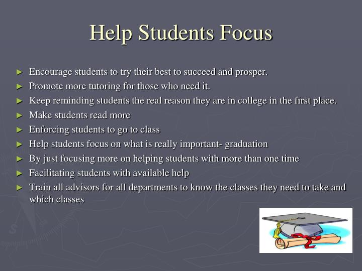 Help Students Focus