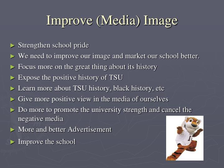 Improve (Media) Image