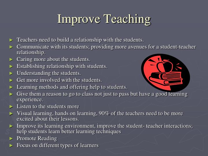 Improve Teaching
