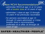 new mcv4 recommendations2
