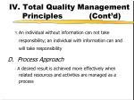iv total quality management principles cont d2