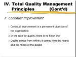 iv total quality management principles cont d4