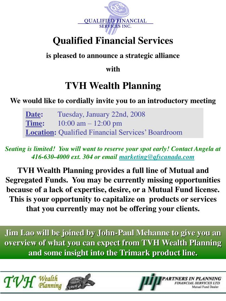 Qualified Financial Services