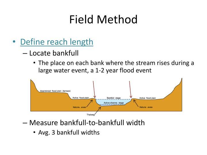 Field Method